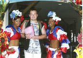 Фото с местными девушками / Доминикана