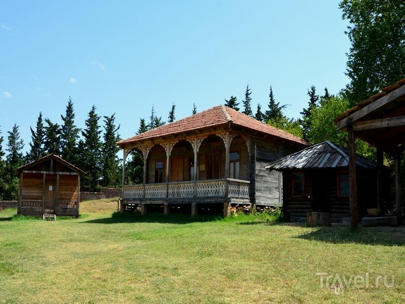 Дома из экспозиции Музея этнографии в Тбилиси, Грузия / Фото из Грузии