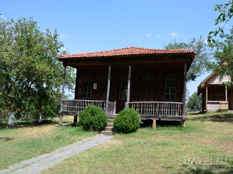 Дом из экспозиции Музея этнографии в Тбилиси, Грузия / Фото из Грузии