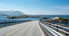 Вид на дорогу / Норвегия