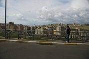 Вид на город Урфа с обочины / Перу