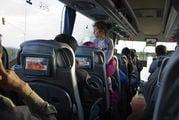 Салон автобуса / Перу