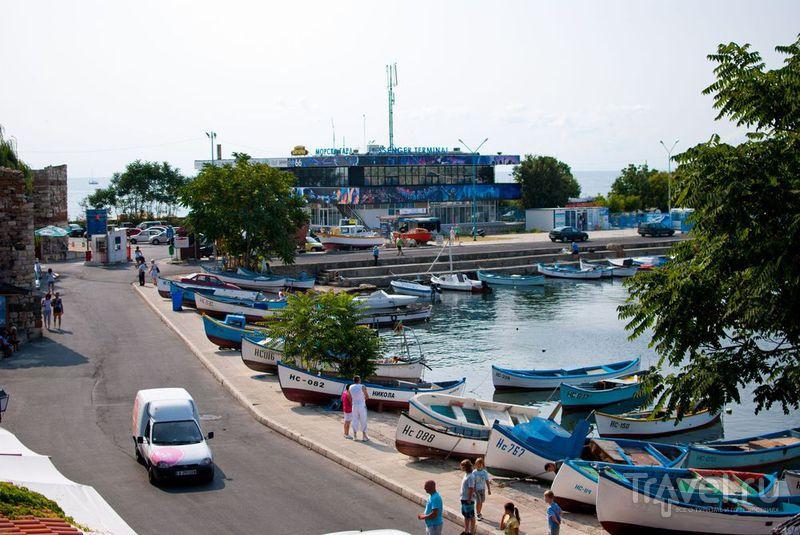 Лодочки на пристани / Болгария