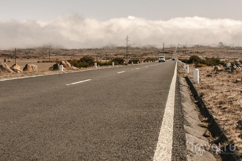 Дорога через центральную часть острова / Португалия
