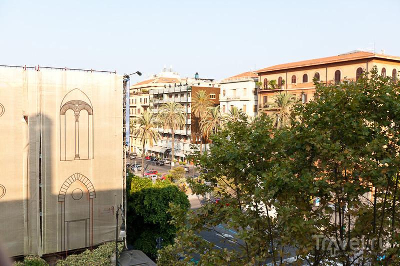 Вид с балкона / Италия