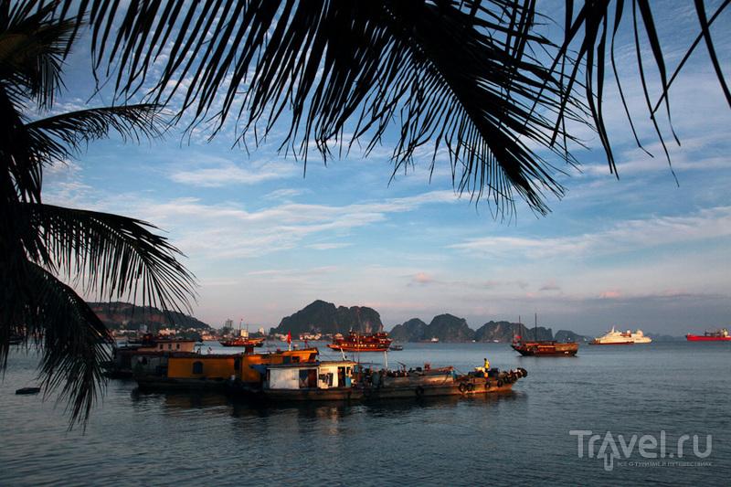 Кораблики на закате / Вьетнам