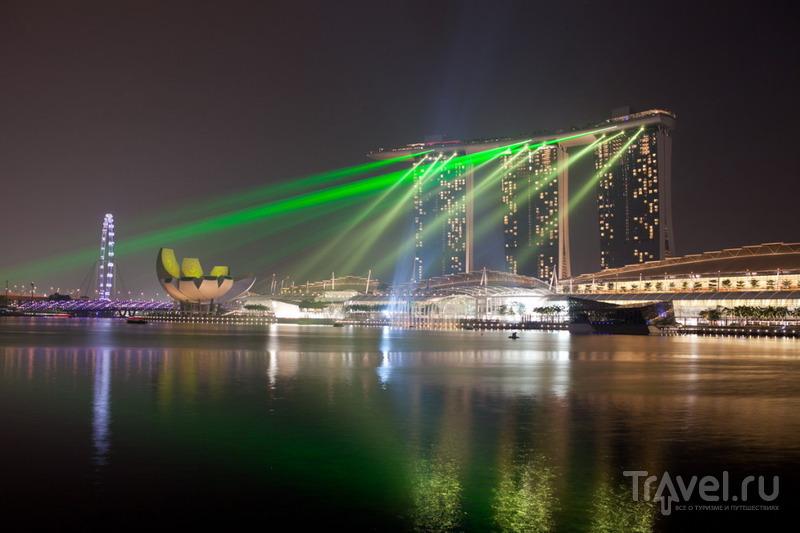 Световое шоу / Сингапур