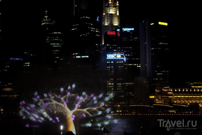 Элементы светового шоу / Сингапур