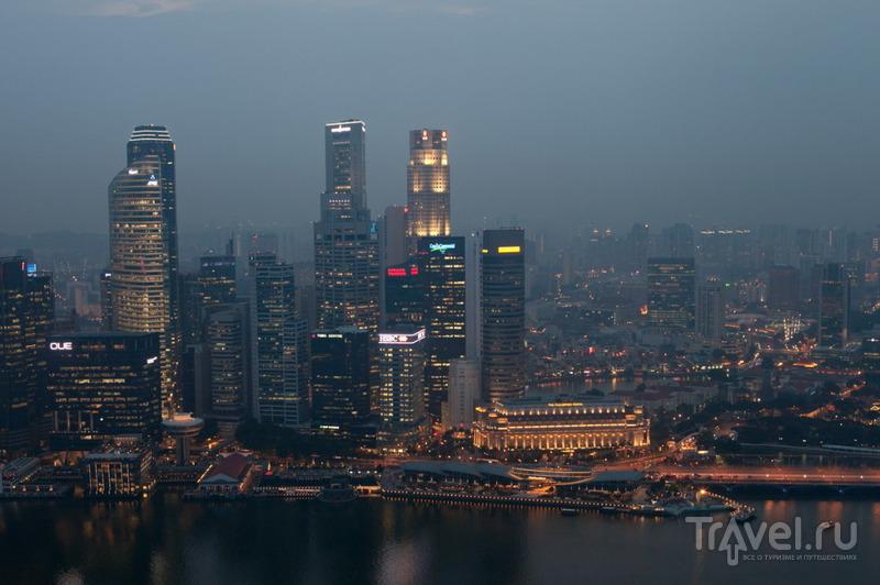 Самый лучший вид на залив / Сингапур
