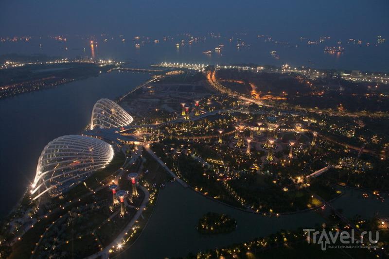 Вид со смотровой площадки / Сингапур