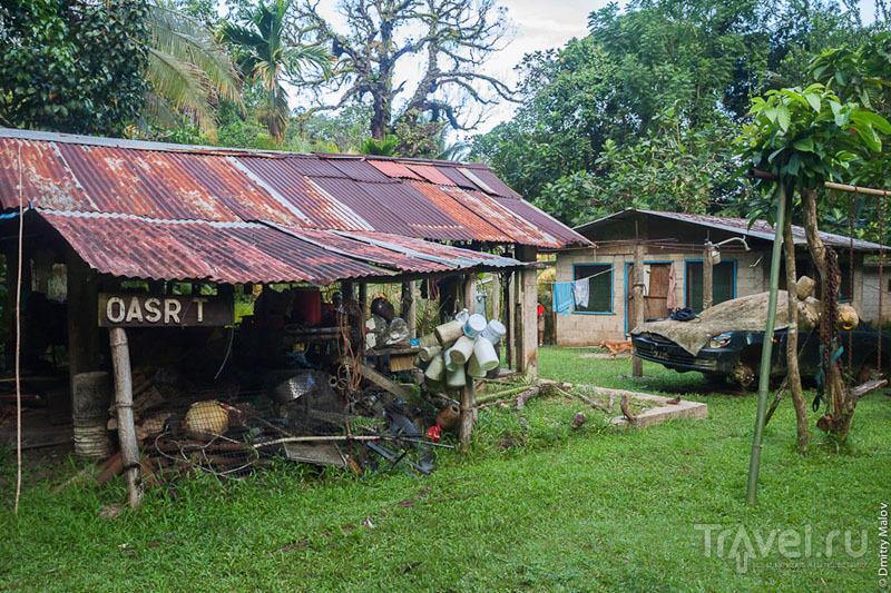 Традиционная микронезийская кухня на острове Косрае, Микронезия / Фото из Микронезии