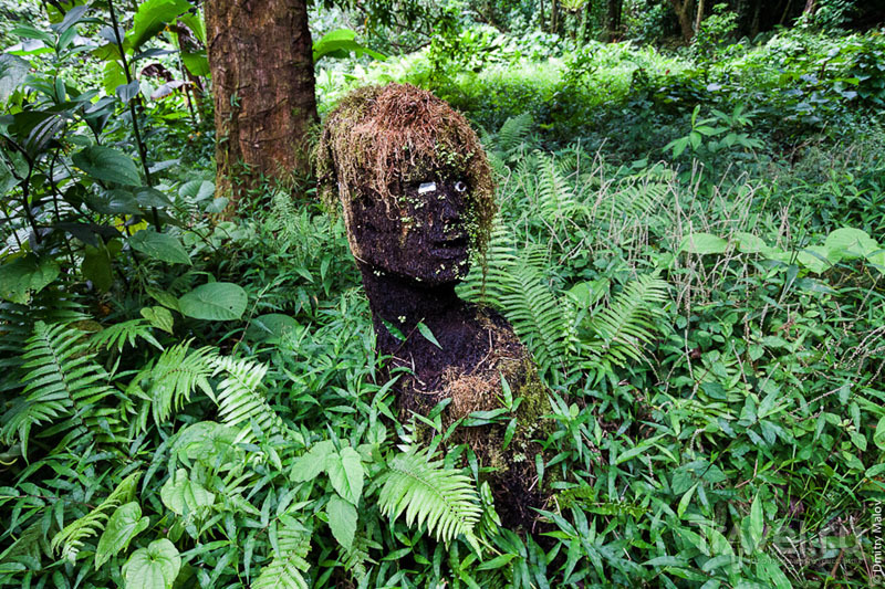 Артобъект на острове Косрае, Микронезия / Фото из Микронезии