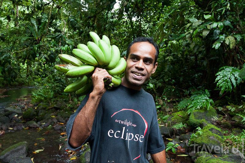 Житель острова Косрае, Микронезия / Фото из Микронезии