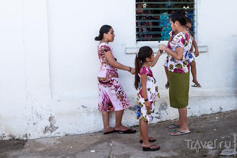 Жители острова Косрае, Микронезия / Фото из Микронезии