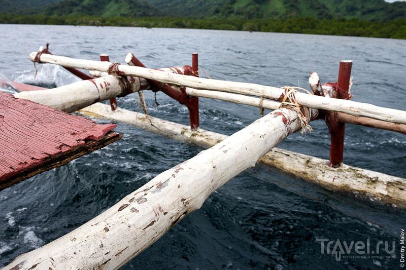 Каноэ на острове Косрае, Микронезия / Фото из Микронезии