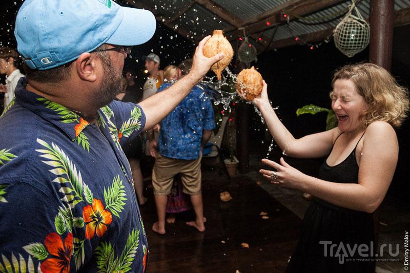 Вечеринка на острове Косрае, Микронезия / Фото из Микронезии