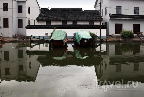 Парковка лодок / Китай