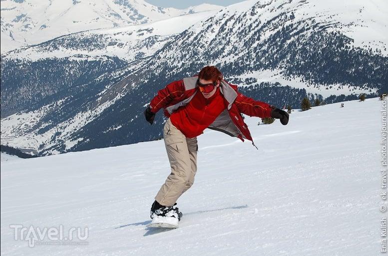 Катание на сноуборде / Андорра