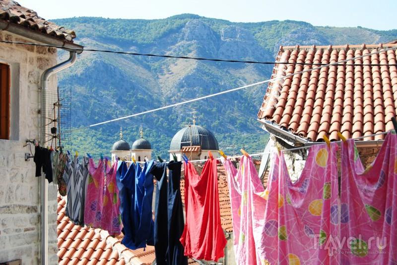 Бельё, купола и горы / Черногория