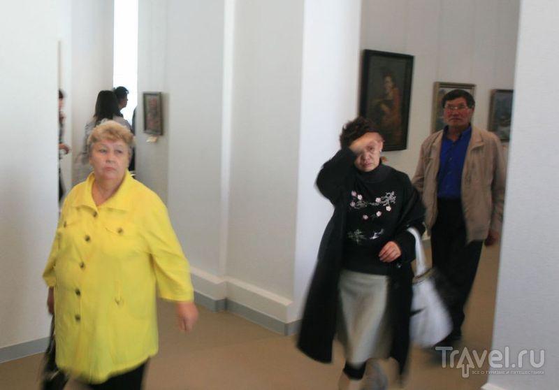 Уставшие участники забега / Россия