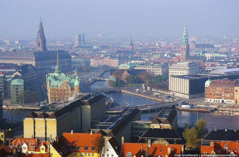 Вид на город / Дания