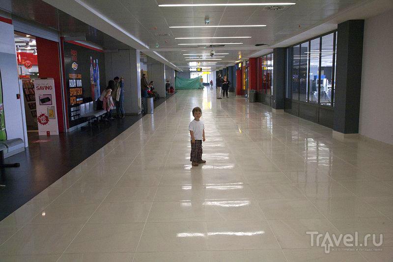 В аэропорту Белграда, Сербия / Фото из Черногории