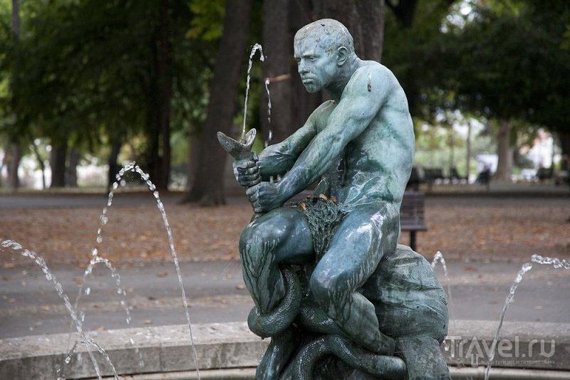 Фонтан в парке Белграда, Сербия / Фото из Черногории