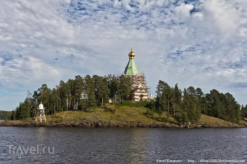 Вид из Монастырской бухты / Россия
