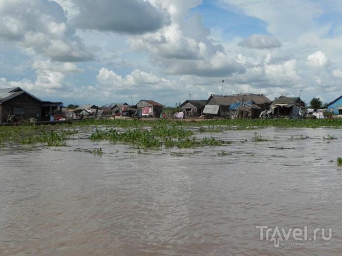 Вид с воды / Камбоджа