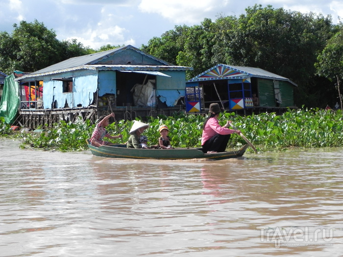 Семейный транспорт / Камбоджа