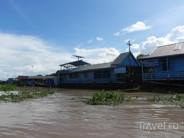 Церковь на воде / Камбоджа