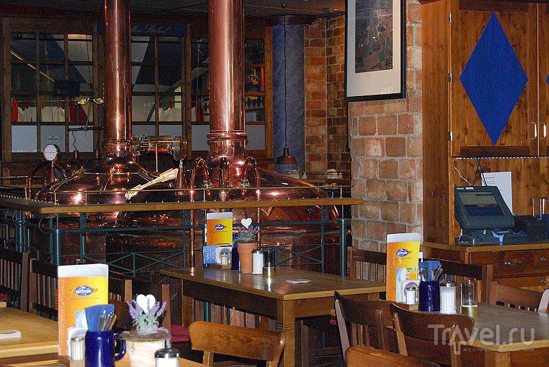 Пивоварня Airbräu в аэропорту Мюнхена, Германия / Фото из Германии