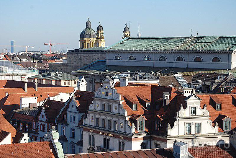 Крыши Мюнхена, Германия / Фото из Германии