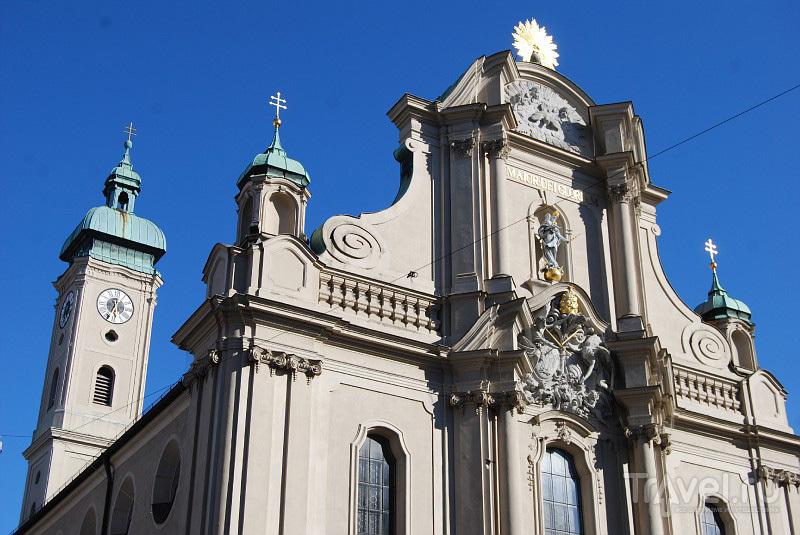 Церковь в центре Мюнхена, Германия / Фото из Германии