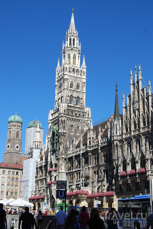 Новая ратуша в Мюнхене, Германия  / Фото из Германии