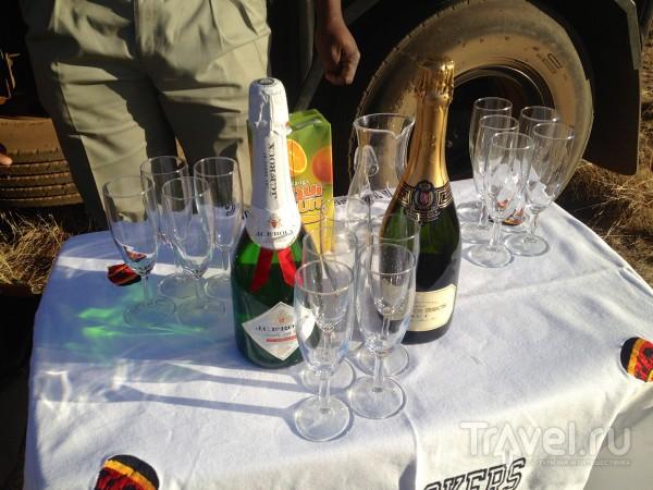Шампанское в 8 утра / ЮАР