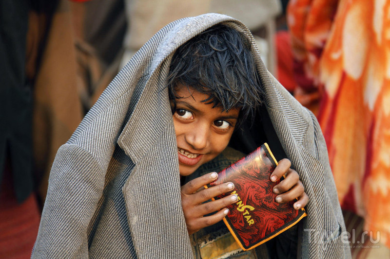 Юный паломник / Индия