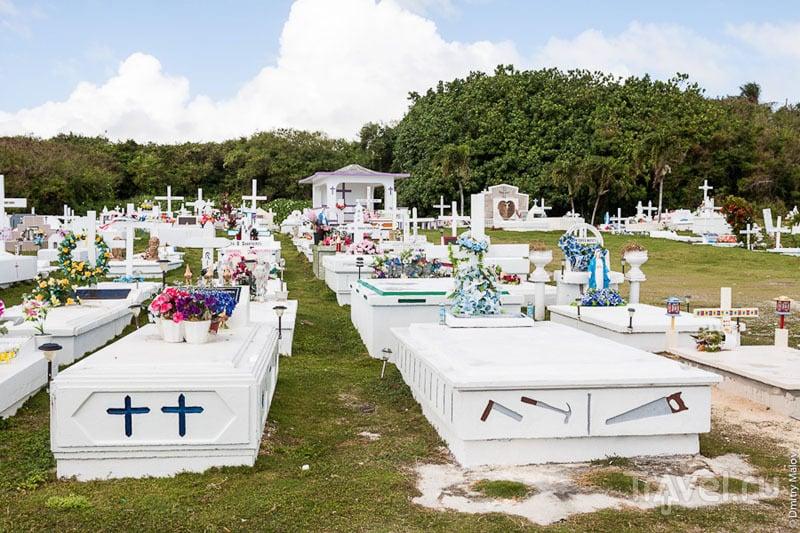 Кладбище на Гуаме / Фото с Гуама
