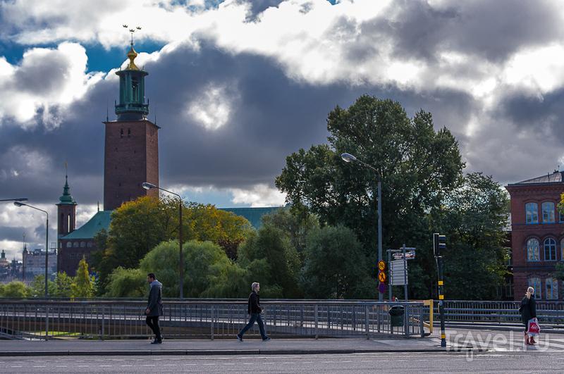 В центре города / Швеция