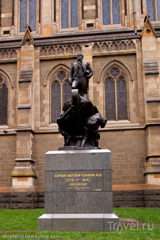 Памятник Мэтью Флиндерсу в Мельбурне / Фото из Австралии