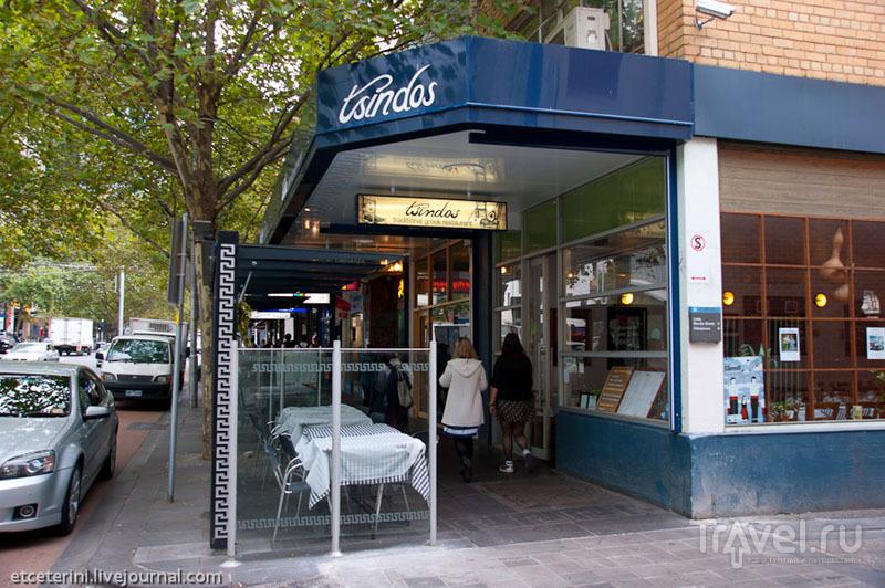 Греческий квартал в Мельбурне / Фото из Австралии
