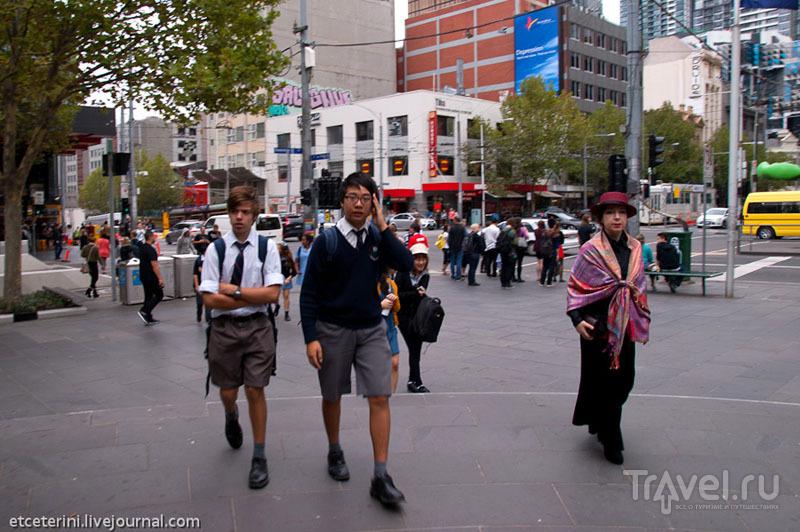 Мельбурн - второй город Австралии / Фото из Австралии