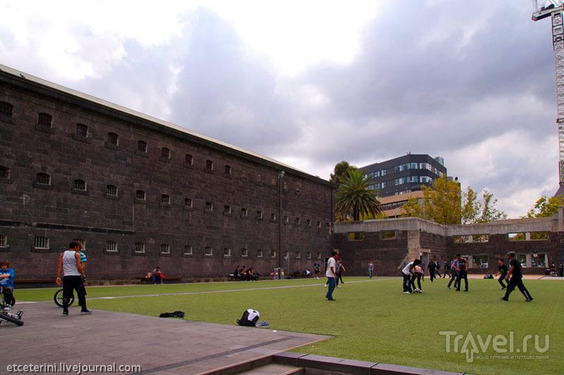 Здание бывшей тюрьмы в Мельбурне / Фото из Австралии