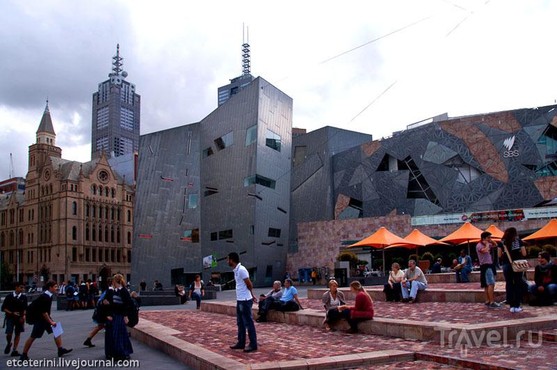 Площадь Федерации в Мельбурне / Фото из Австралии