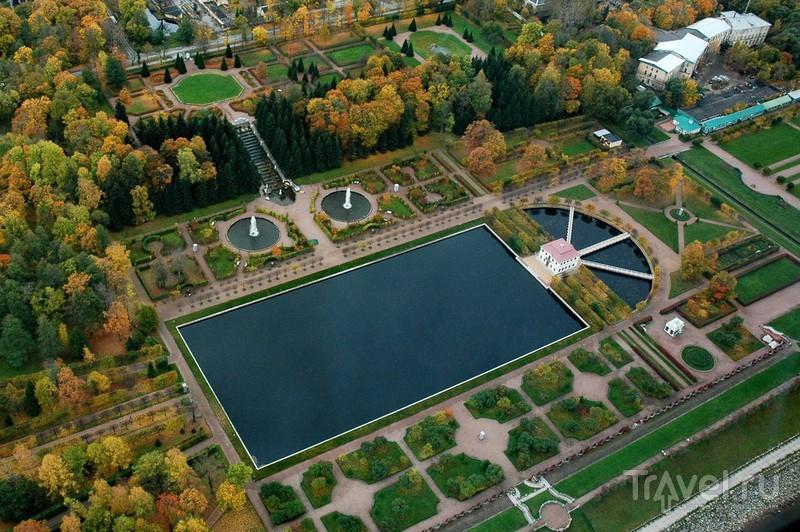 Дворец Марли с Марлинским прудом / Россия