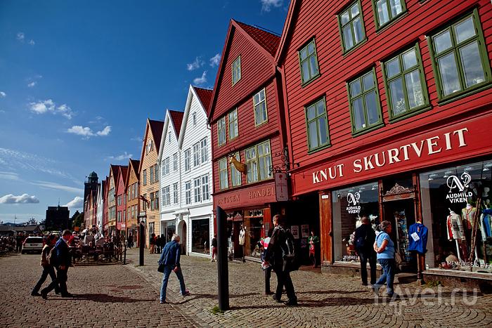 Старинный купеческий квартал / Норвегия