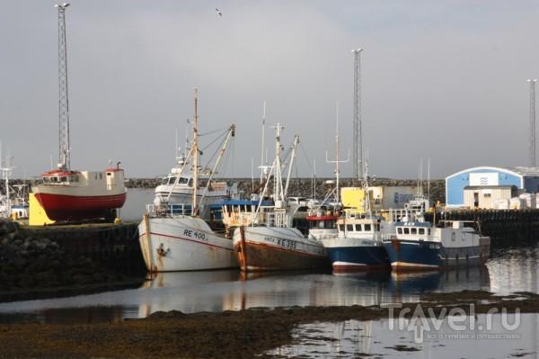 В порту Гриндавика / Исландия