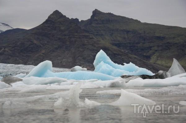 Озеро Ёкюльсарлон / Исландия