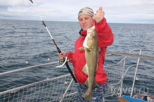 Рыбалка превзошла все ожидания / Исландия