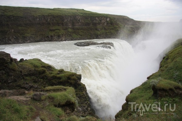 Гюльфосс - золотой водопад / Исландия
